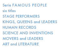 Serie FAMOUS PEOPLE